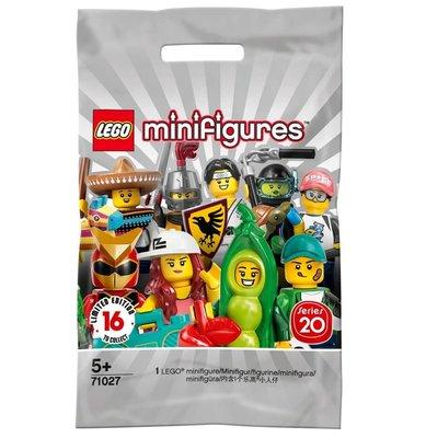 Lego - Minifigür Seri 20 71027