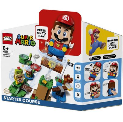LEGO Super Mario 71360 Mario ile Maceraya Başlangıç Yapım Seti - 231 Parça
