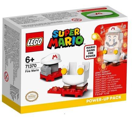 LEGO Super Mario 71370 Ateşli Mario Güçlendirme Kostümü Yapım Seti