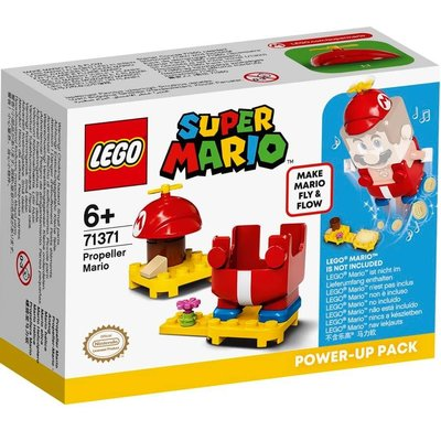 LEGO Super Mario 71371 Pervaneli Mario Güçlendirme Kostümü Yapım Seti