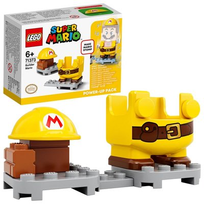LEGO Super Mario 71373 Tamirci Mario Güçlendirme Kostümü Yapım Seti