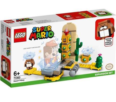 Lego Super Mario Çöl Pokey Ek Macera Yapım Seti 71363