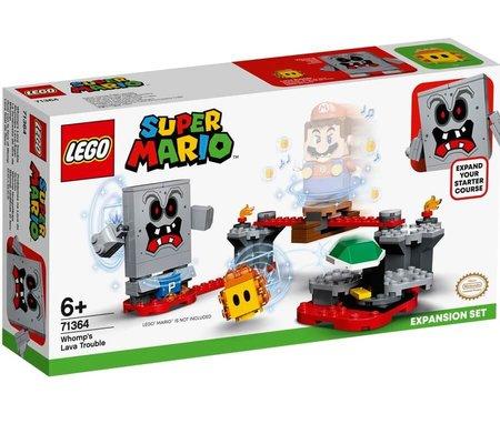 Lego Super Mario Whompun Lav Macerası Ek Macera Yapım Seti 71364