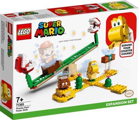 LEGO Super Mario 71365 Piranha Plant Güç Kaydırağı Ek Macera Yapım Seti