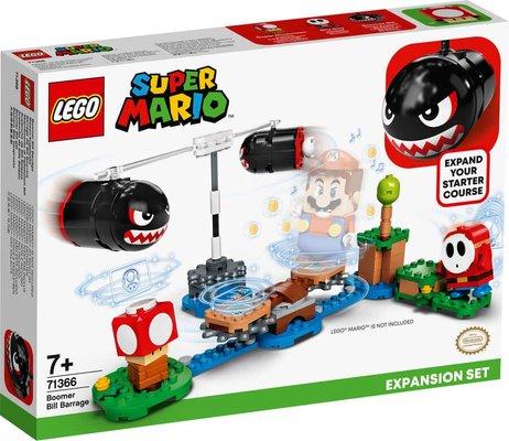 LEGO Super Mario 71366 Boomer Bill Baraj Ateşi Ek Macera Yapım Seti