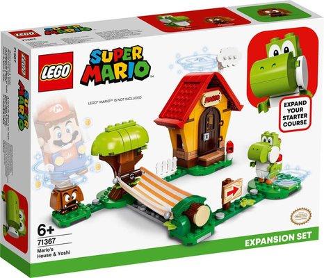 LEGO Super Mario 71367 Marionun Evi ve Yoshi Ek Macera Yapım Seti