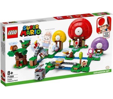 LEGO Super Mario 71368 Toadun Hazine Avı Ek Macera Yapım Seti 464 Parça