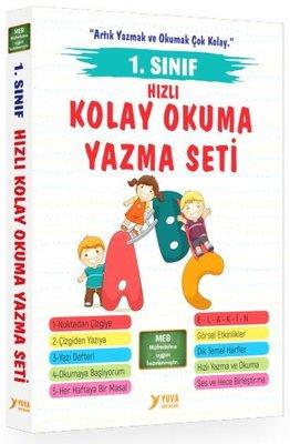 1. Sınıf Okuma Yazma Seti - 5 Kitap Takım