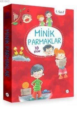 Minik Parmaklar Düz Yazı 1. Sınıf Seti - 10 Kitap Takım