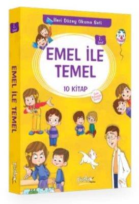1. Sınıf Emel İle Temel Seti 10 Kitap Takım