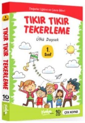 1. Sınıf Tıkır Tıkır Tekerleme Seti 10 Kitap Takım