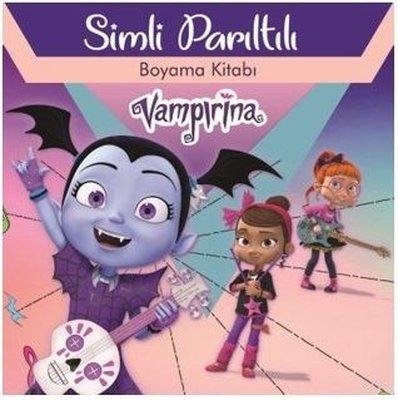 Disney Vampirina - Simli Parıltılı Boyama Kitabı
