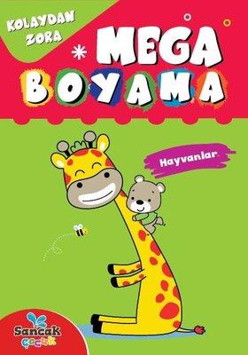 Mega Boyama - Hayvanlar - Kolaydan Zora