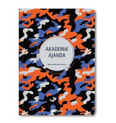 Le Color Akademik Ajanda - Kapak 5 17x24 Ciltli
