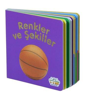 Renkler ve Şekiller - Mini Karton Kitaplar