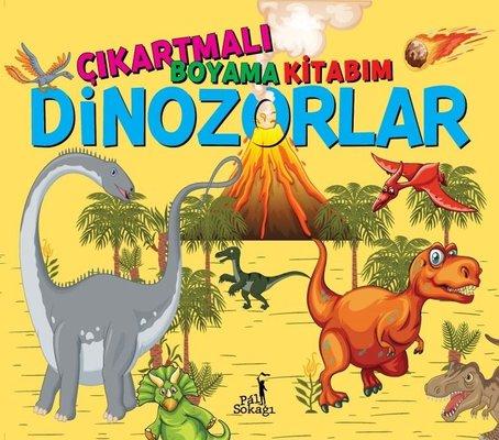 Dinozorlar - Çıkartmalı Boyama Kitabım