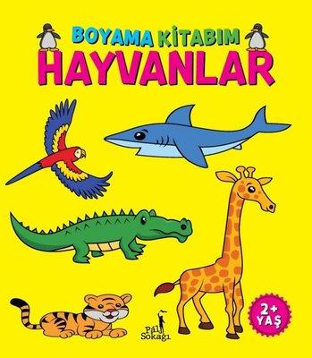 Hayvanlar - Boyama Kitabım 2+ Yaş