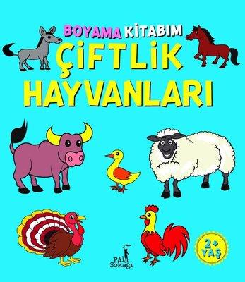 Boyama Kitabım - Çiftlik Hayvanları 2+ Yaş