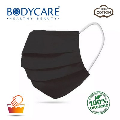 Bodycare Yıkanabilir Pamuklu Maske - Siyah