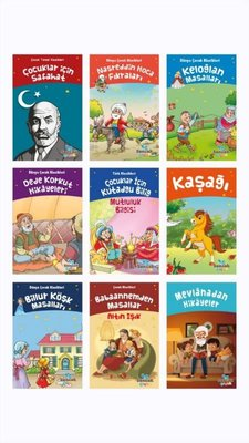 Türk Çocuk Klasikleri Seti - 9 Kitap Takım