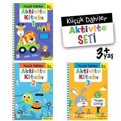 Küçük Dahiler Aktivite Seti 3+ Yaş - 3 Kitap Takım