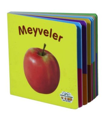 Meyveler Mini Karton Kitaplar