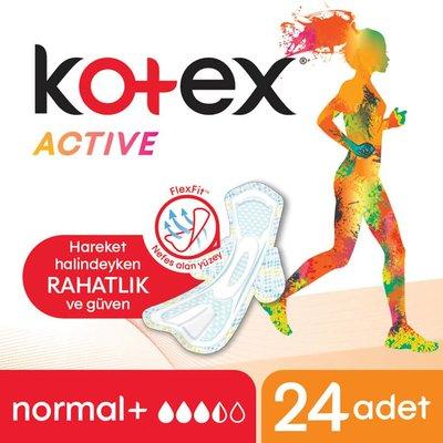 Kotex Active Quadro Normal (24X12)
