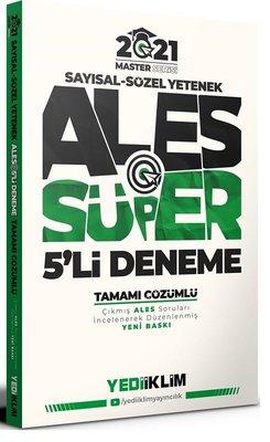 2021 Master Serisi Sayısal - Sözel Yetenek ALES  Süper 5'li Deneme Tamamı Çözümlü