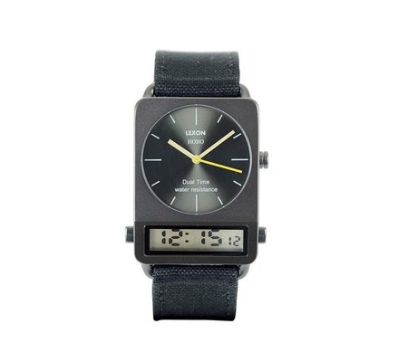Lexon Hobo Watch - Siyah