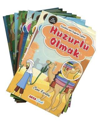 Çocuklar İçin Hikayelerle Değerler Eğitimi Seti - 10 Kitap Takım