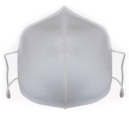 No-Vid Saf Gümüş Tel İçeren Yıkanabilir Bez Maske
