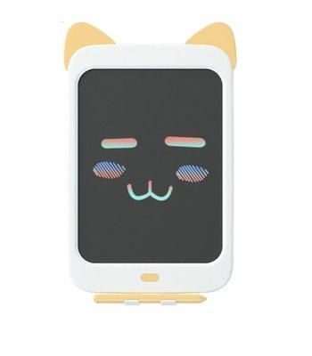Wicue 10 İnch Sarı Kedi LCD Dijital Renkli Çizim Tableti