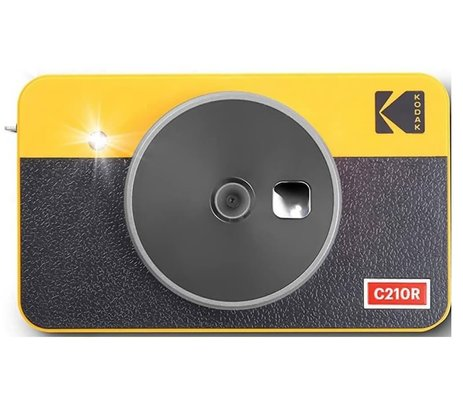 Kodak Mini Shot Combo 2 Retro/C210 - Anında Baskı Dijital Fotoğraf Makinesi - Sarı