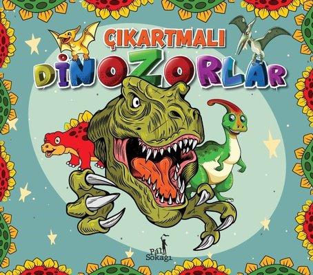 Çıkartmalı Dinozorlar - Çıkartma Etkinlik ve Boyama