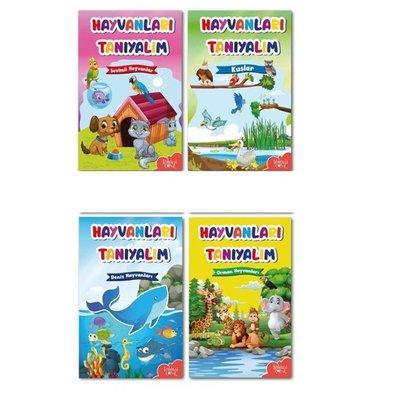 Hayvanları Tanıyalım Seti - 4 Kitap Takım