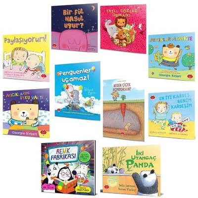Bebeğimin İlk Hikayeleri Seti - 10 Kitap Takım