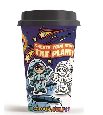 Art in a Cup - Create Your Story - The Planet