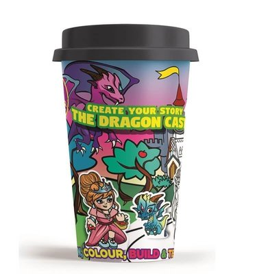 Art in a Cup - Create Your Story - The Dragon Castle