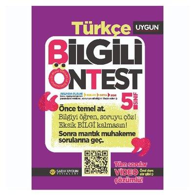 5.Sınıf Bilgili Ön Test Türkçe