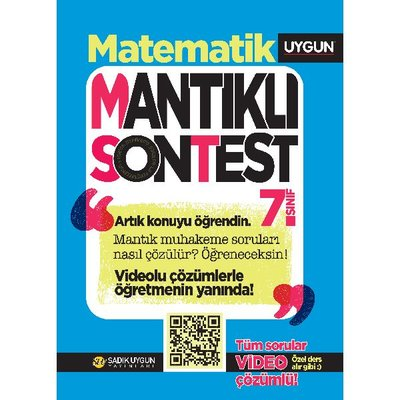 7.Sınıf Mantıklı Son Test Matematik