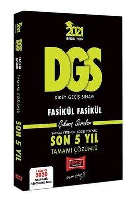 2021 DGS VIP Tamamı Çözümlü Fasikül Fasikül Son 5 Yıl Çıkmış Sorular - 9 Ağustos 2020 Sınavı Dahil
