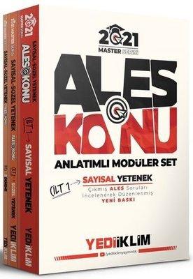 2021 Master Serisi ALES Konu Anlatımlı Modüler Set (3 Cilt)