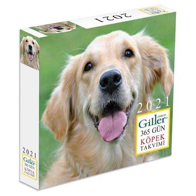 Giller 2021 365Gün Köpek MasaTakvimi