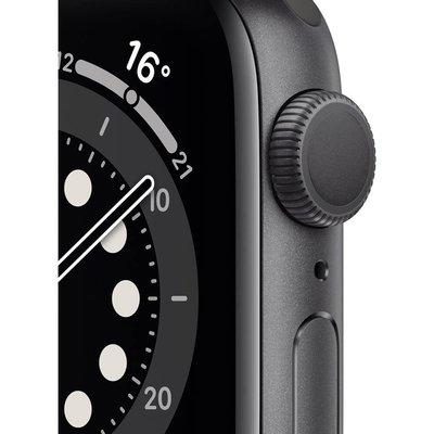Apple Watch Series 6 GPS 40 mm Uzay Grisi Alüminyum Kasa ve Siyah Spor Kordon Akıllı Saat MG133TU/A