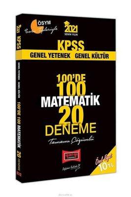 2021 KPSS Matematik 100'de 100 Tamamı Çözümlü 20 Deneme