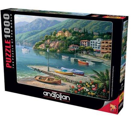 Anatolian - Puzzle 1000 Parça Liman 1096