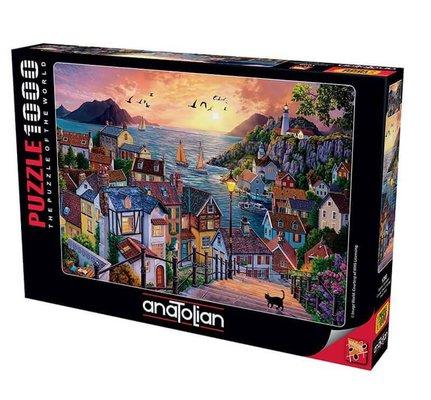 Anatolian - Puzzle Gün Batımı 1000 Parça 1098