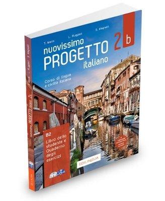 Nuovissimo Progetto İtaliano - 2B B2 Libro dello Studente e Quaderno degli Esercizi