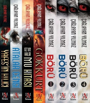 Çağlayan Yılmaz Seti - 8 Kitap Takım