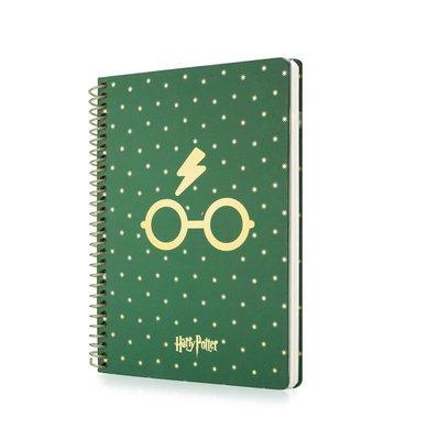Mabbels Harry Potter Spiralli Butik Defter 24x17 190 sayfa